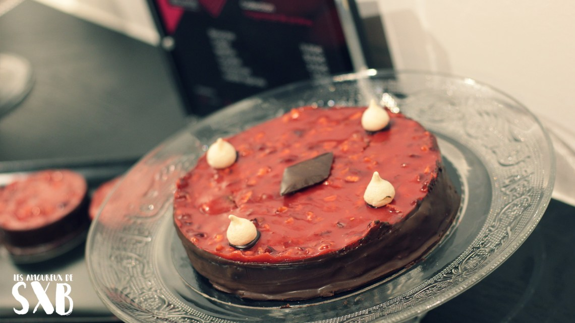 Les pralines de Mélanie - La tarte aux pralines, le coup de coeur de l'amoureux