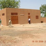 Construction d'un abattoir