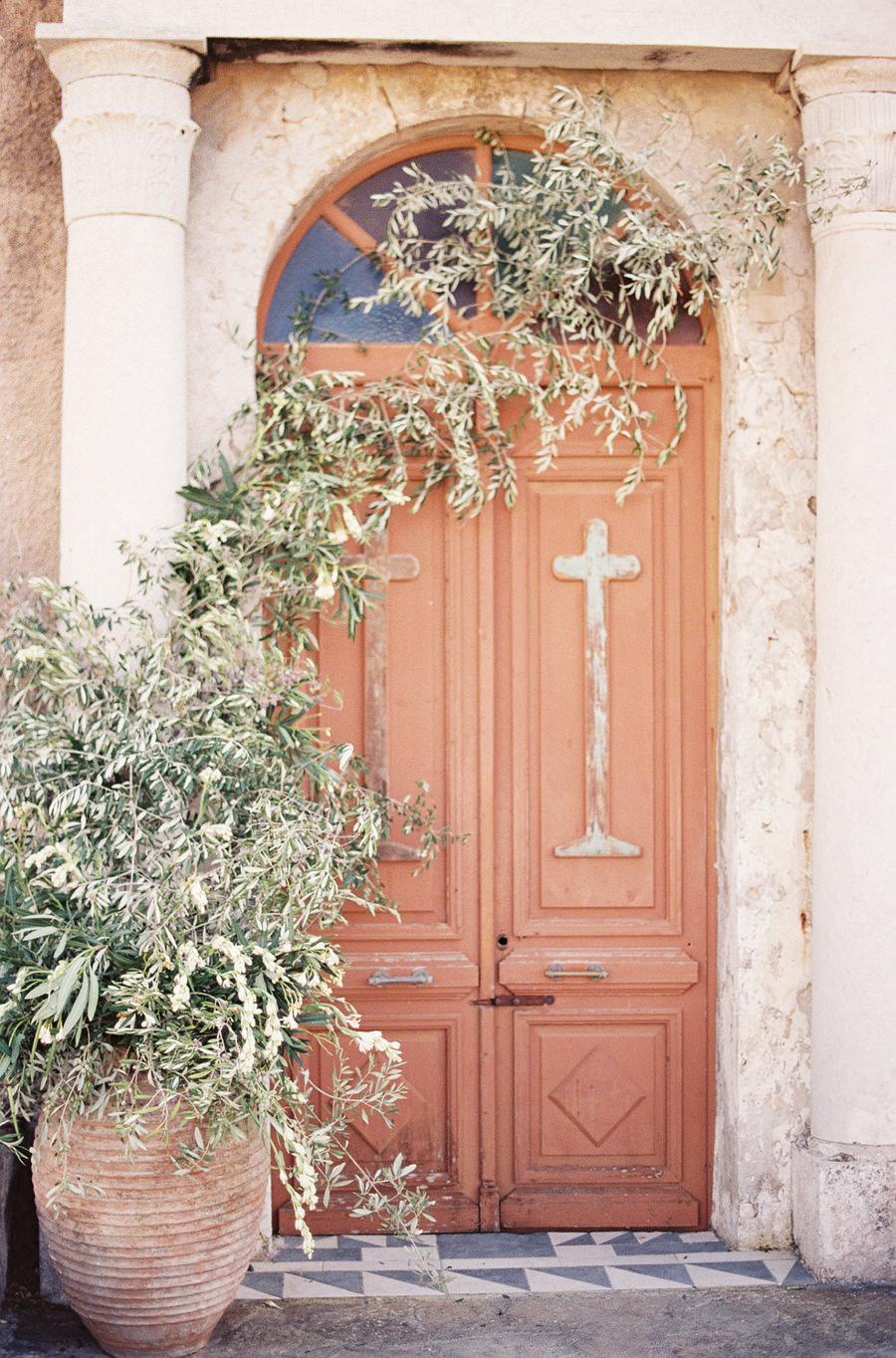 Bride and Ancient Greek Church Ruins  Les Anagnou Photographers