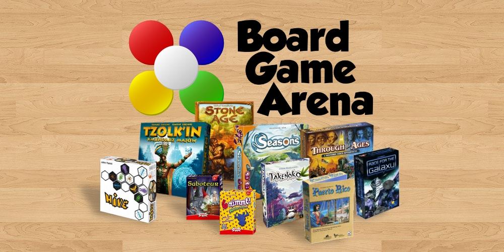 Board game arena pour des jeux de société même éloignés
