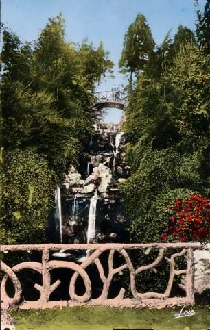 La grande cascade du Thabor, XXe siècle. Archives de Rennes, 100 Fi 280.