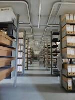 Les fonds privés des Archives de Rennes, magasin 5. Cliché Macula Nigra, 9 mai 2016.
