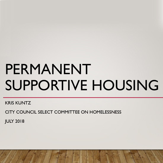 Housing & Community Development Solutions - Permanent Supportive Housing