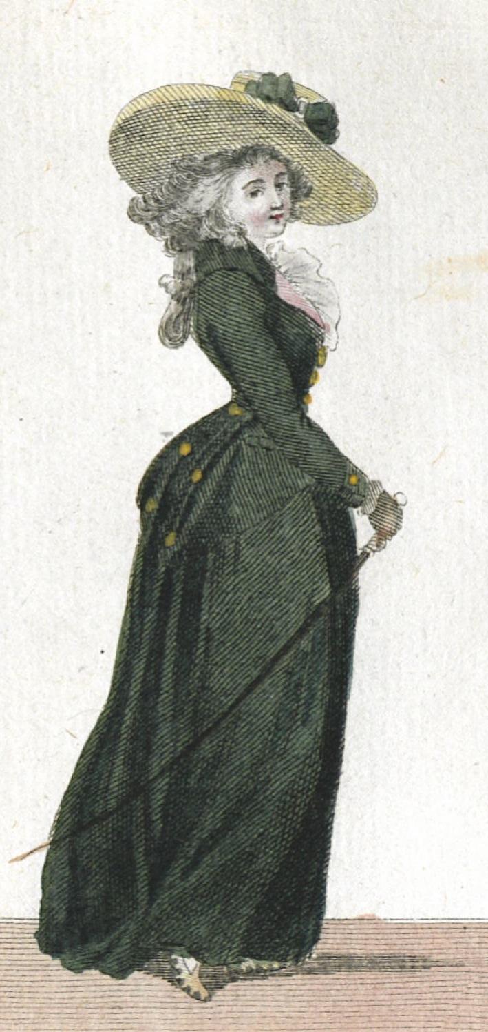 A 1780s Gainsborough hat  Les Arts Decoratifs