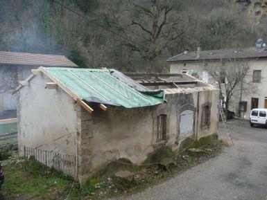 rénovation de toiture en drome sur chabeuil