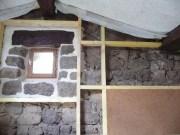 doublage intérieur ,isolation laine de bois
