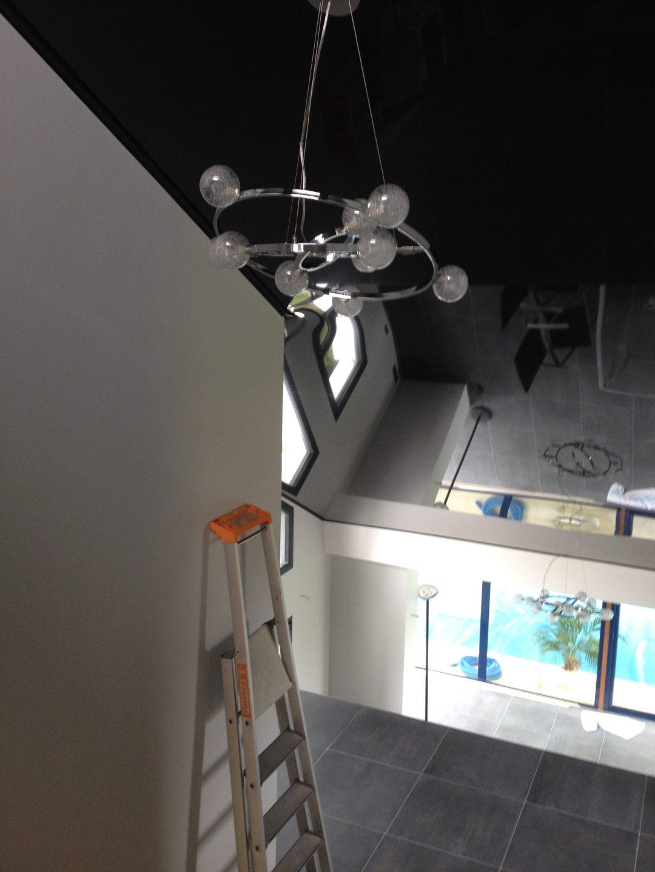 pose plafond tendu rouen
