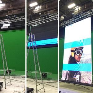 Motorisation des écrans Skynight pour Julien Doré