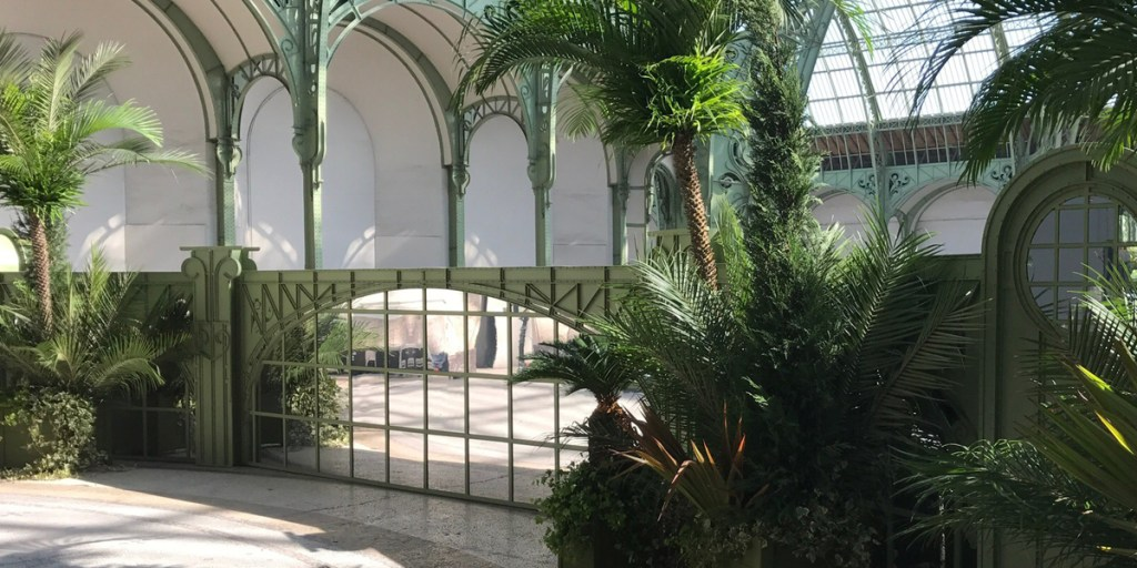 Al Thani Structure imitation Grand Palais