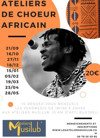 ateliers choeur Africain 2020