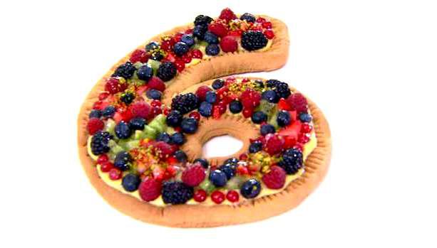 Crostata alla frutta di Luca Montersino
