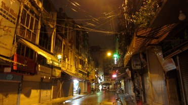 Ha-Noi, by night and pluie