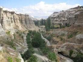 Une des nombreuses vallées de Göreme