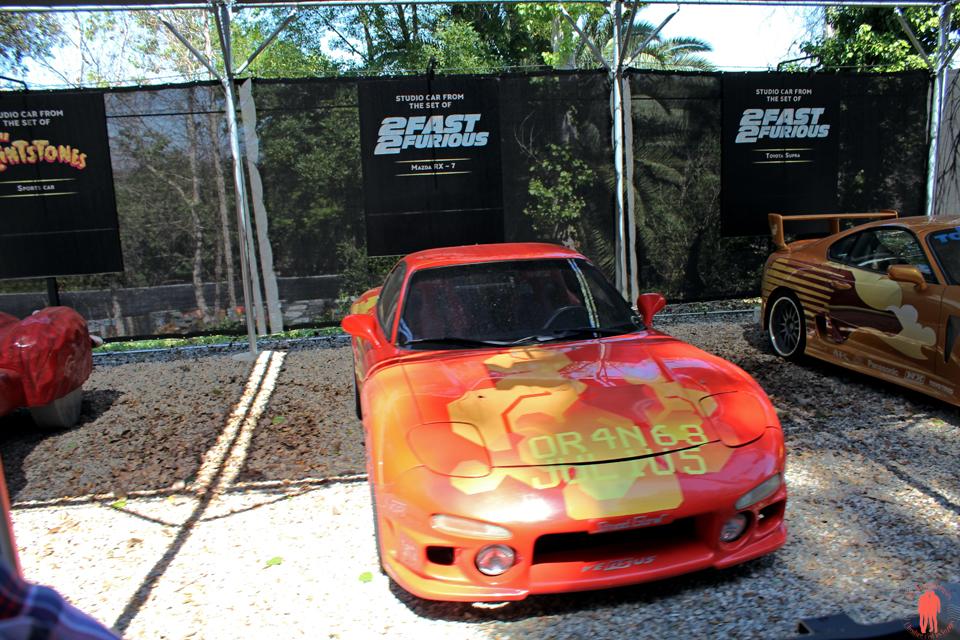 Universal Studio Los Angeles - 2 fast 2 furious car 1