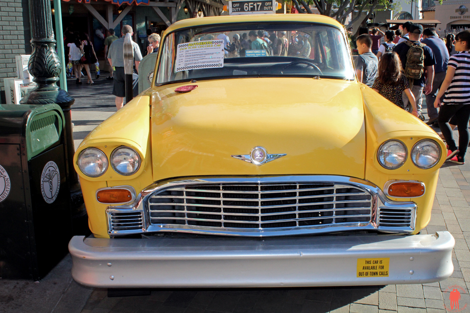Universal Studio Los Angeles - Taxi jaune new-yorkais