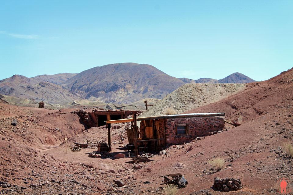 Calico Ville Fantôme - Ancienne mine d'argent