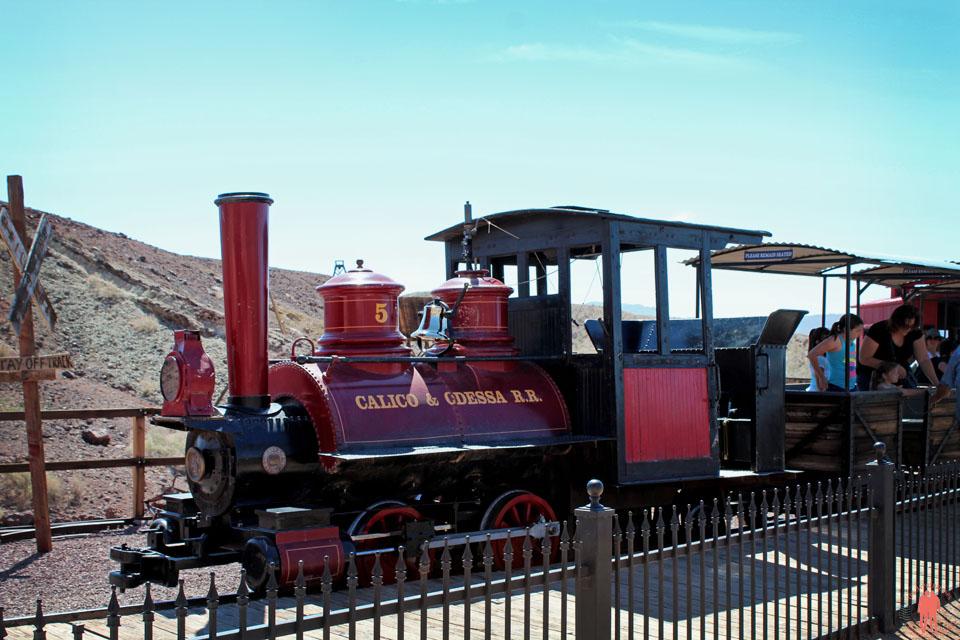 Calico Ville Fantôme - Calico & Odessa Train