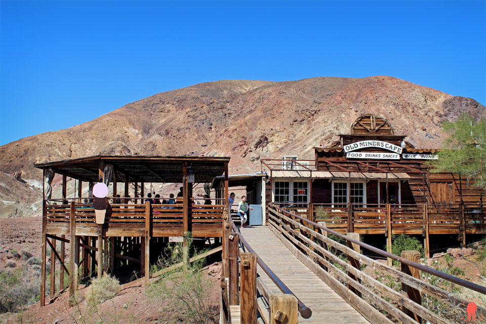 Calico Ville Fantôme - Old Miners Cafe