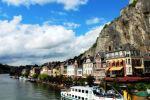 Sur les bord de la Meuse, Dinant Belgique