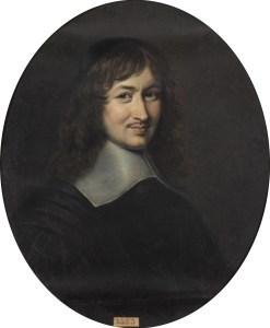 Portrait de Nicolas Fouquet par Édouard Lacretelle