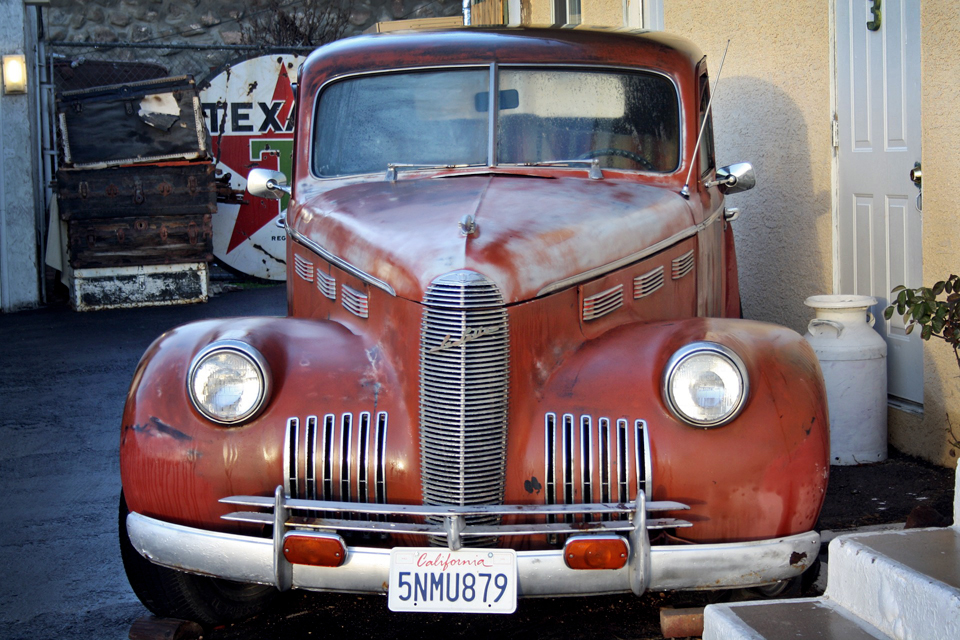 Route 66 - Barstow Voiture ancienne 1