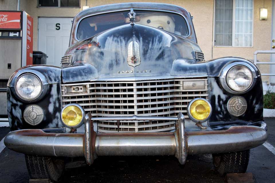 Route 66 - Barstow Voiture ancienne 2