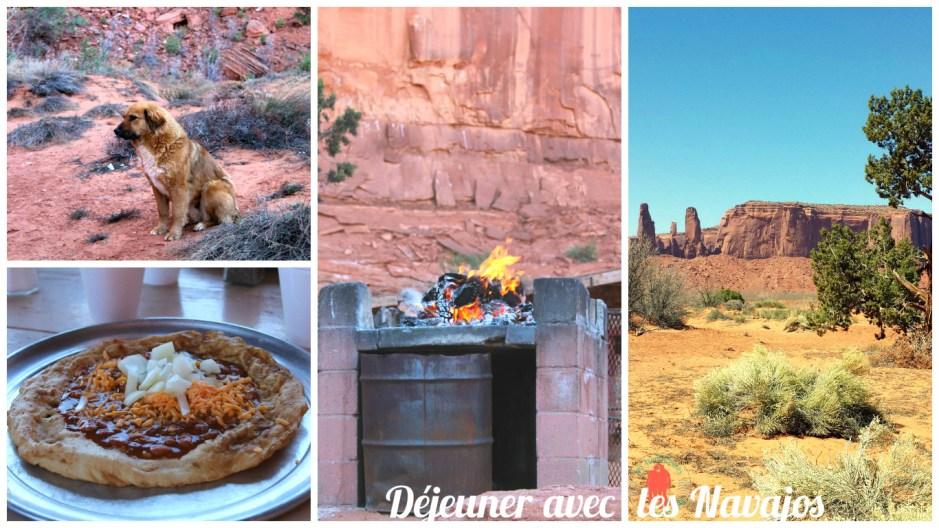 Déjeuner avec les Navajos, Monument Valley