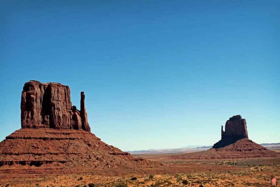 Monument Valley - East et West Mitten