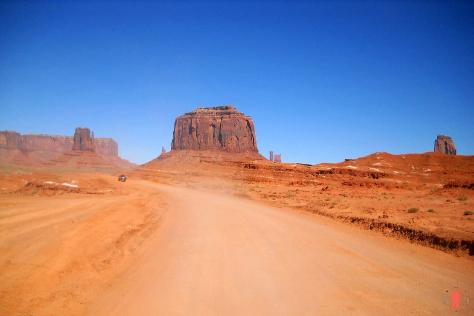 Sur la route de Monument Valley