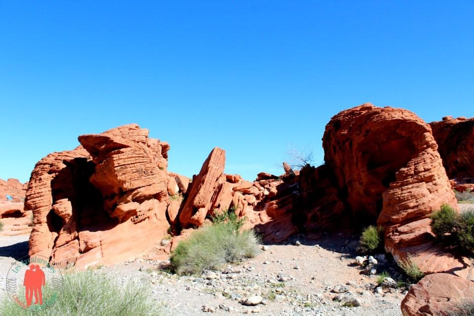 Rocher Rouge, Vallée du Feu Nevada