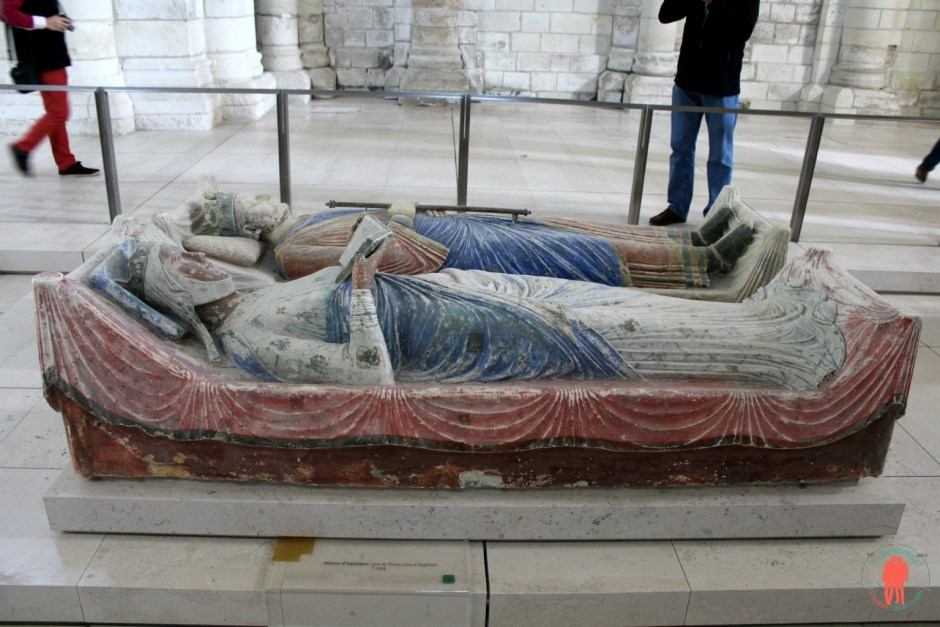 Aliénor d'Aquitaine à Fontevraud