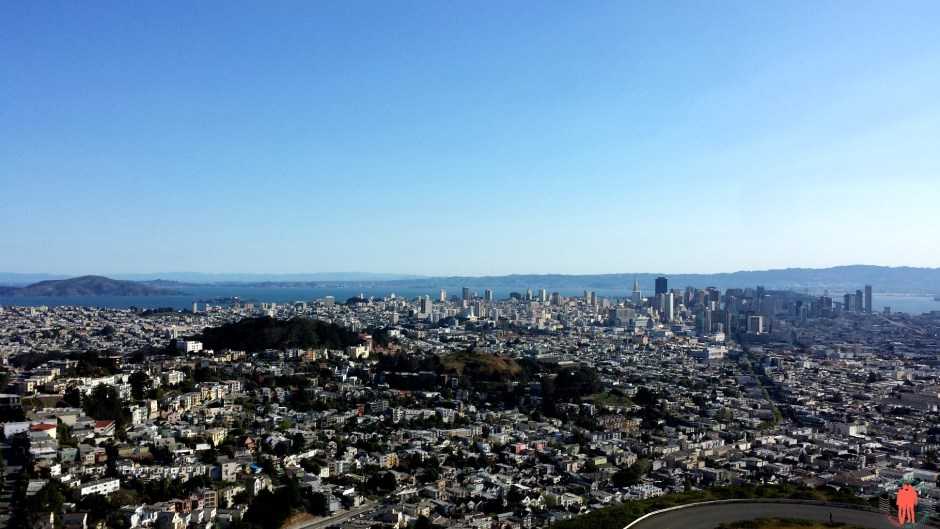 Panorama Twin Peaks, San Francisco