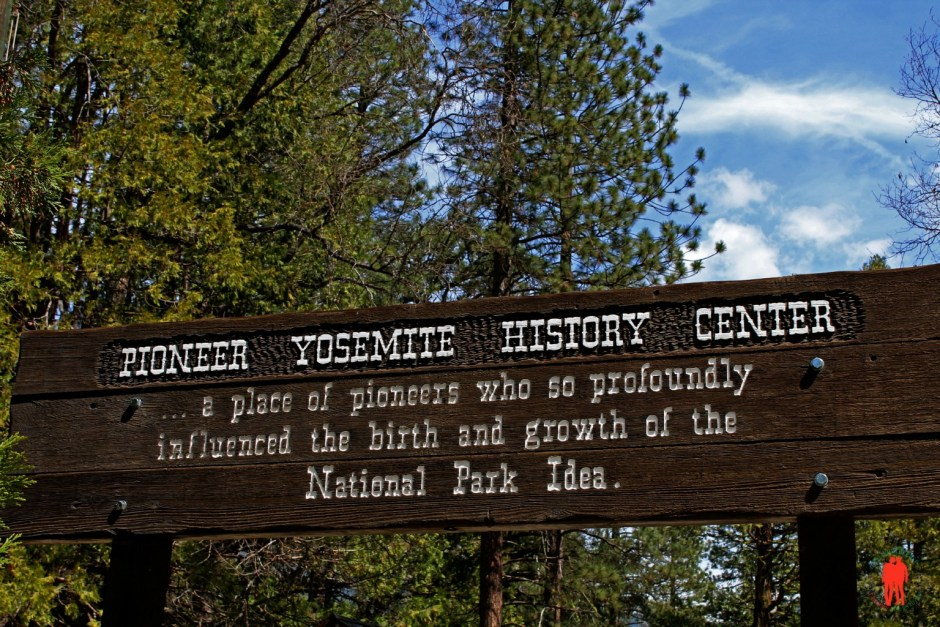Yosemite pioneer sign