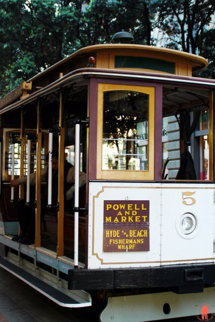 Cable Car Powell and Market Visiter San Francisco