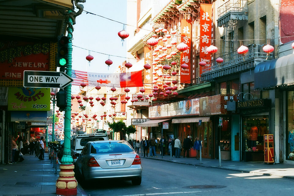 Chinatown -Visiter San Francisco