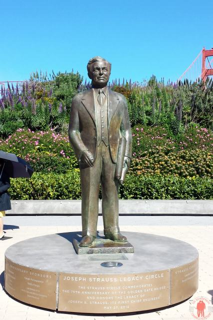 Joseph Strauss - Golden Gate Visiter San Francisco