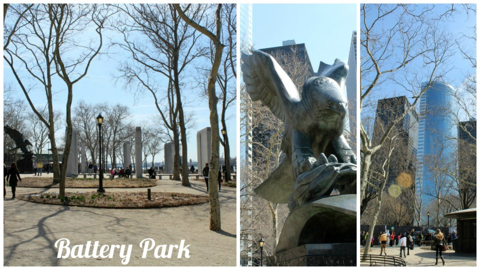 Battery Park Collage
