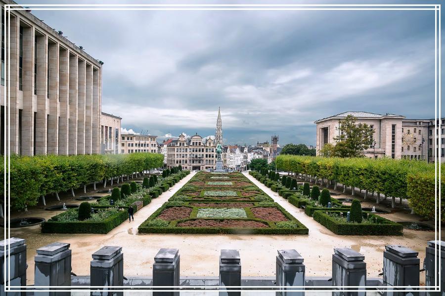 Bruxelles, Jardins