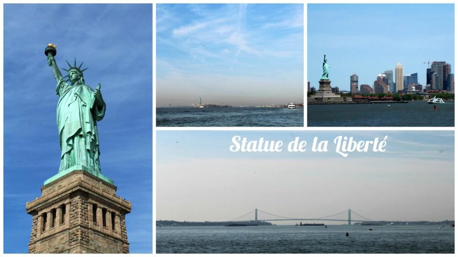 Collage Statue de la liberté