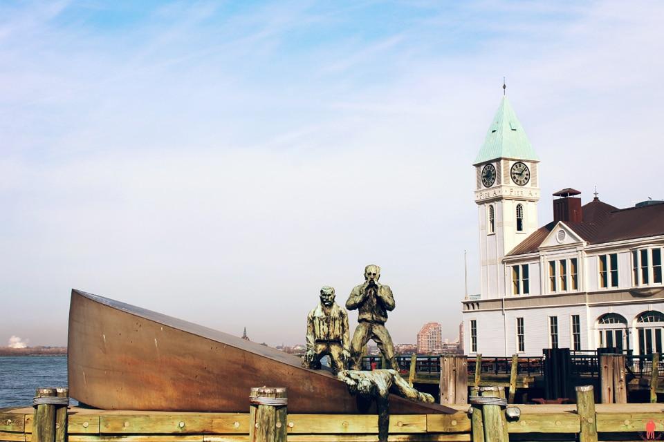 Statue de la liberté - New York - Port de Battery Park