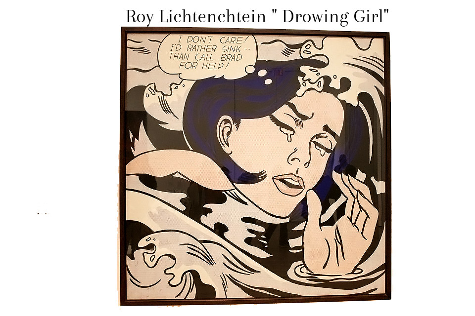 Roy Lichtenchtein, Drowning Girl MOMA