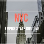 Visiting New York, Empire State Building