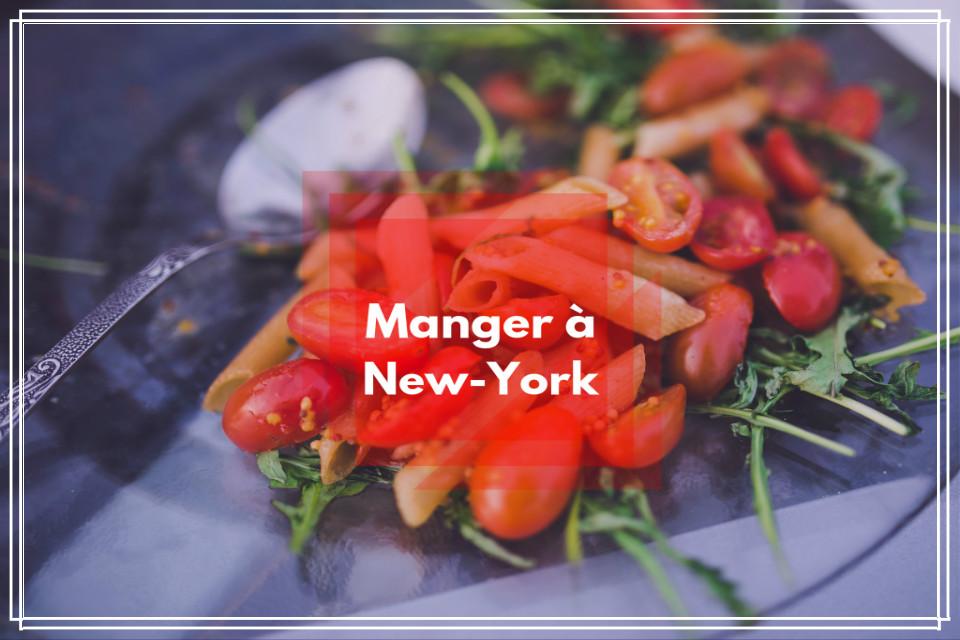 Manger à New-York