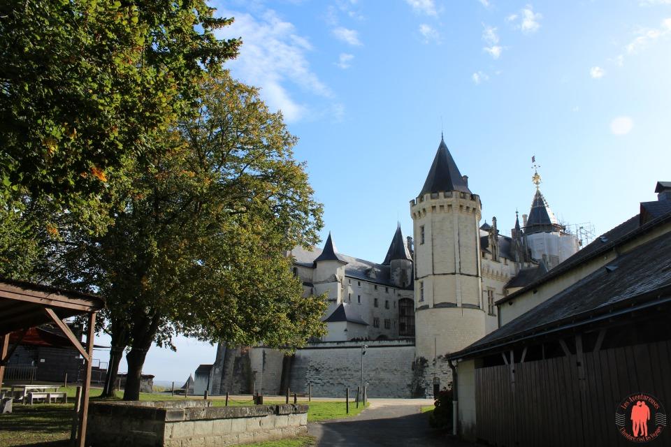 Visiter saumur Vue d'ensemble château de Saumur