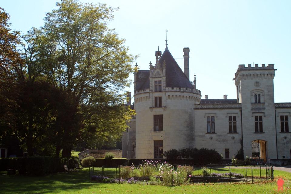 Château de Brézé Entrée Nord Ouest