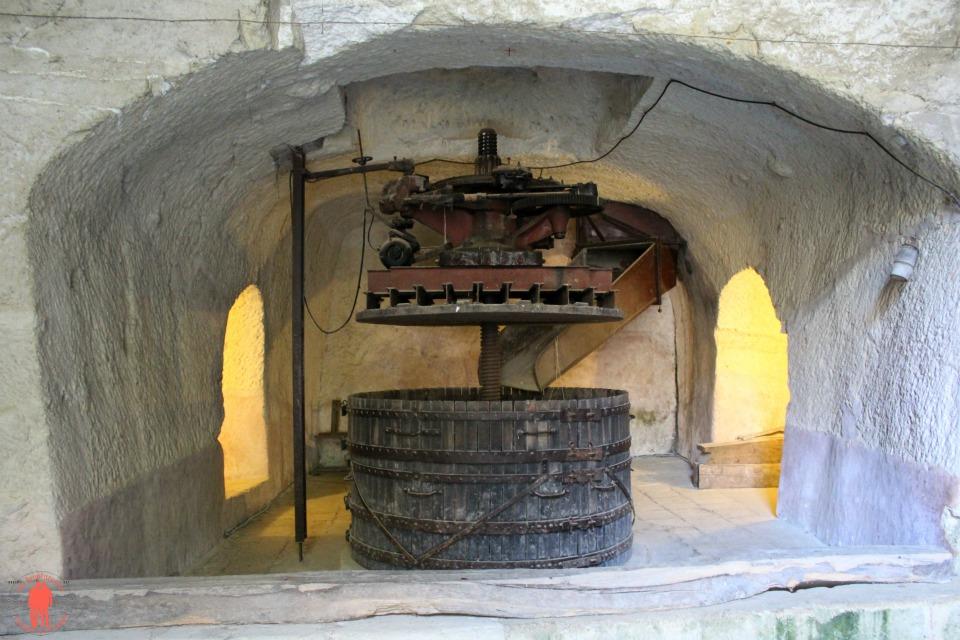 Château de Brézé Pressoir Troglodytes
