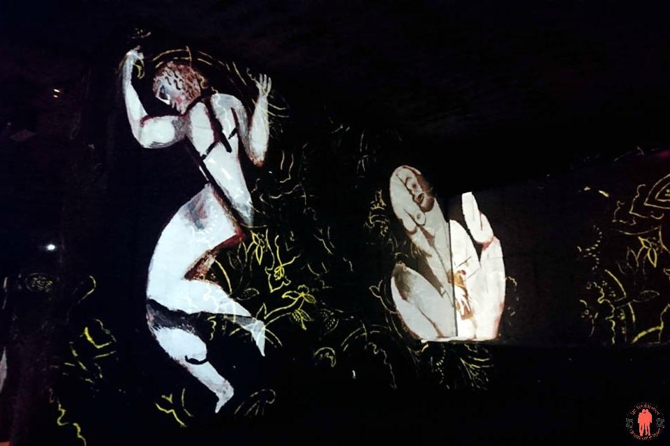 Carrières de Lumières Femmes Chagall 2