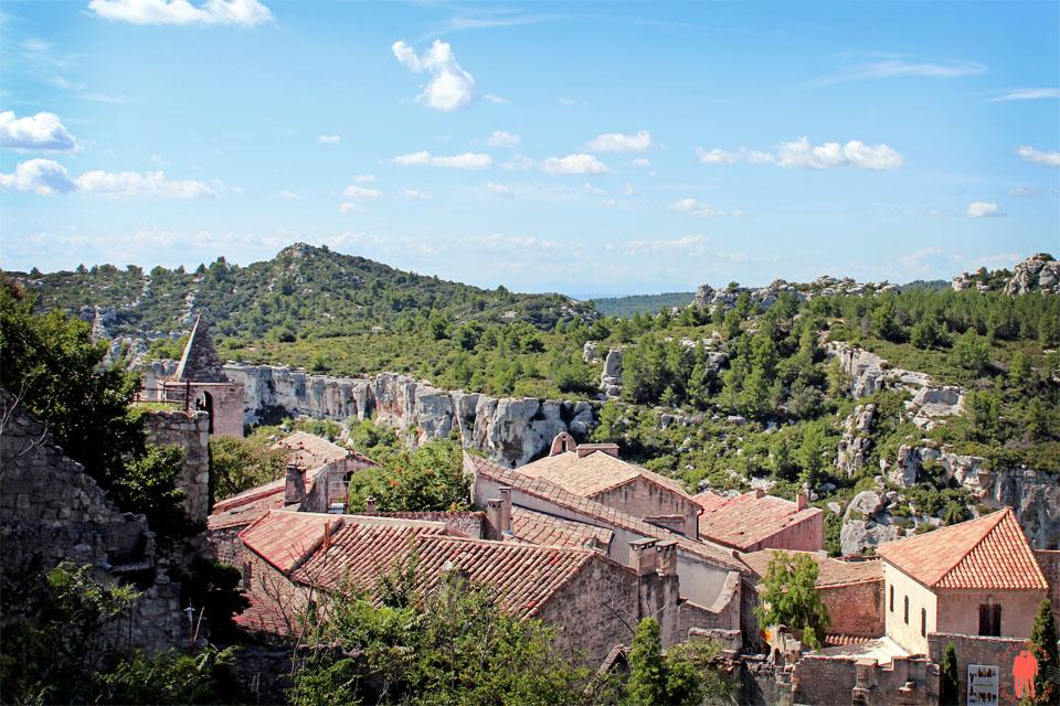 Les baux de Provence - Toit des Baux 2