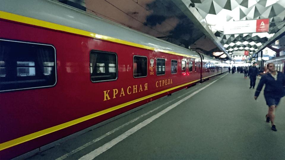 Krasnaya Strella 2 - Prendre le train en Russie
