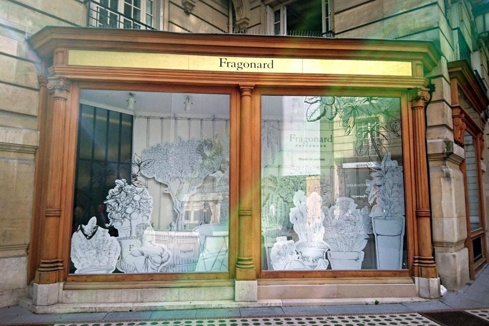 Façade Fragonard - Musée du Parfum